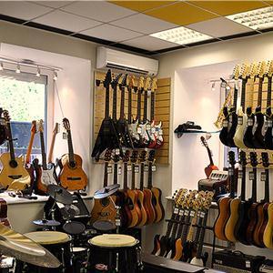 Музыкальные магазины Известкового